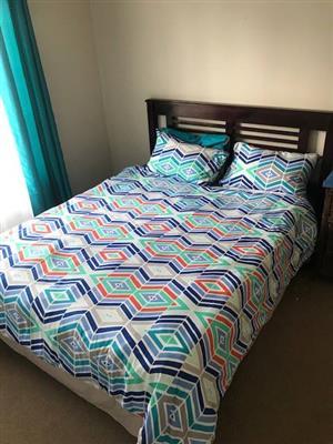 Queen Bed & Headboard