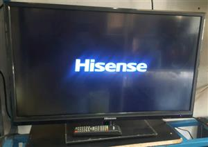 Hisense LED FHD  32 inch with original stand, Remote & all the cables Included in Sale...