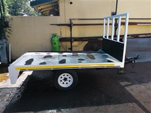 Furniture removal trailer.