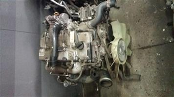 Isuzu KB250 2.5 D-TEC Twin Cam 16V Engine # 4JK1