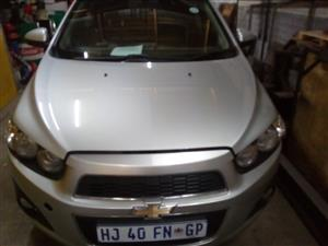 2012 Chevrolet Sonic hatch 1.6 LS