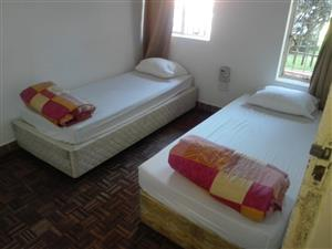 Shared room accommodation in Randburgfor essential services workers