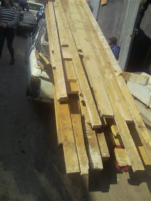 Oregon pine rafters and beams for sale