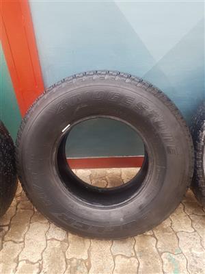 For sale - Used Bridgestone Dueller 255/70R15.