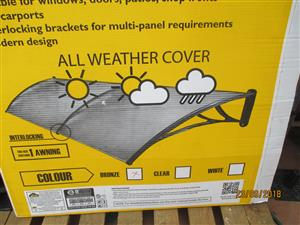 owning for your doors rain and sun protection  1.5 m  wide