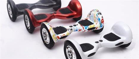 "**BRAND NEW** 10"" Self Balance HoverBoards + Lights to sell or swop for cellphone"
