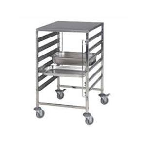 Working Trolley Stainless Steel 7 Tier