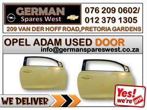 OPEL ADAM USED DOOR FOR SALE