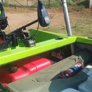 bassboat and lots of extras and fishing gear