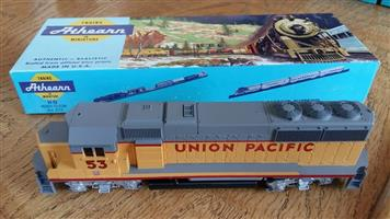 Grey and orange union pacific train for sale