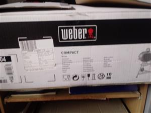 WEBER BRAAI- BRAND NEW STILL SEALED IN BOX