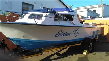 Ace craft cabin boat