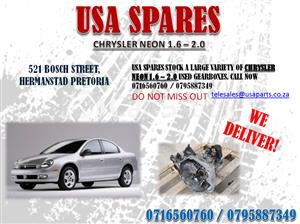 CHRYSLER NEON 1.6, 2.0 GEARBOXES