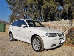 2009 BMW X3 xDrive20d M Sport auto