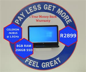»»»HP 15 NoteBook with 12 Months Warranty (451)«««
