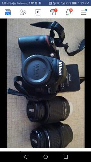 Nikon d3200 twin lens