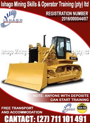 Bulldozer training center in rustenburg/Gaborone/Namibia +27815568232