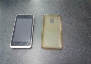 Mobicell Astro Cellphone  Comes with Gell Cover   In prestine working condition