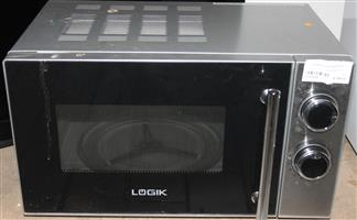 S035939a Logik 20l microwave silver #Rosettenvillepawnshop