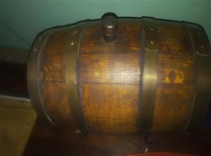 French wooden barrel for sale