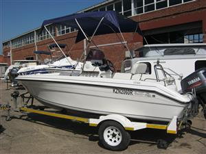 Odyssey 17 C/C boat with Yamaha 130HP motor