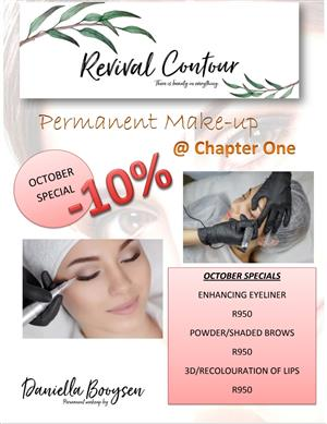 Permanent Make Up done by Revival Contour