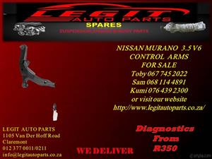 NISSAN MURANO 3.5 V6 CONTROL ARMS FOR SALE