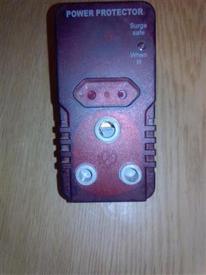 An ellies safe surge power protector.