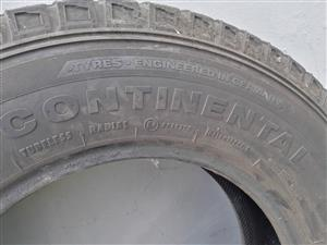 Continental World Contact 4*4Tyre 205R16C