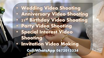 Video Shooting Services