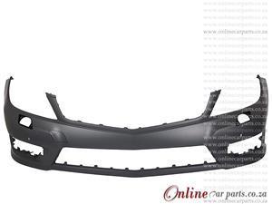 Mercedes Benz AMG W204 11-13 Front Bumper With Washer Holes