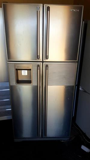STAINLESS STEEL 4 DOOR FRIDGE FREEZER