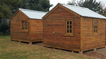 Wendy house and Log cabin