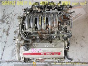 NISSAN MAXIMA -VQ30DE 3.0 V6 24V FWD Engine