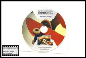 Canon SA Photo Books Software CD