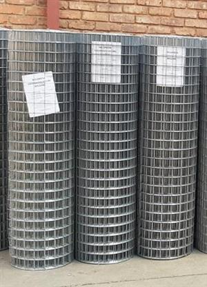 Special offer!  Galvanised weldmesh