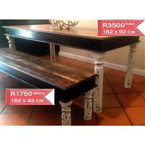 Farmhouse style/Patio dining table