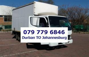 Johannesburg to Durban