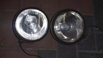 2 Large spotlights for sale