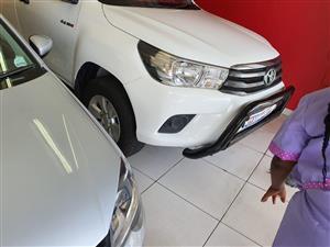 2017 Toyota Hilux single cab HILUX 2.4 GD 6 SRX 4X4 P/U S/C