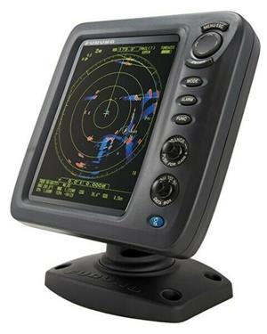 """FURUNO MODEL 1815 is an 8.4"""" color LCD radar designed for pleasure craft and small fishing boats."""