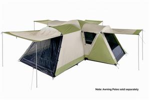 Oztrail Latitude 12 man tent CHRISTMAS SPECIAL…..at factory for R6499-00 our SLASHED PRICE R5499-00