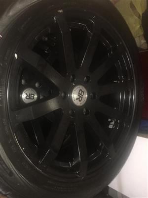 """20""""BLACK RHINO MAGS & TYRES FORSALE"""