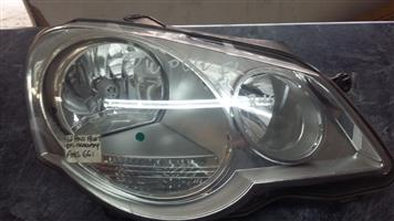 VW Polo Facelift Right Side Headlamp