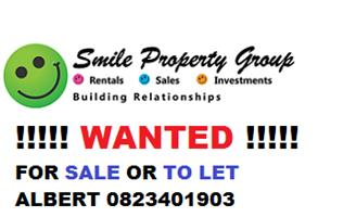 HOUSE  FOR SALE OR RENT WANTED IN  PRETORIA EAST