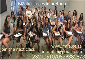 IsiZulu Classes for Beginners Sandton-Midrand and Pretoria