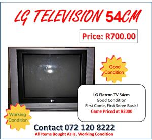 LG Flatron TV 54cm