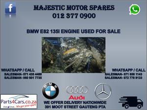 Bmw e82 135I engine for sale