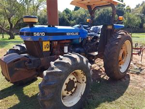 New Holland 5610 tractor,Papers in order