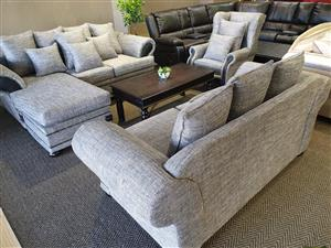New York 3 piece lounge suite WAS R 13650 NOW R 10495